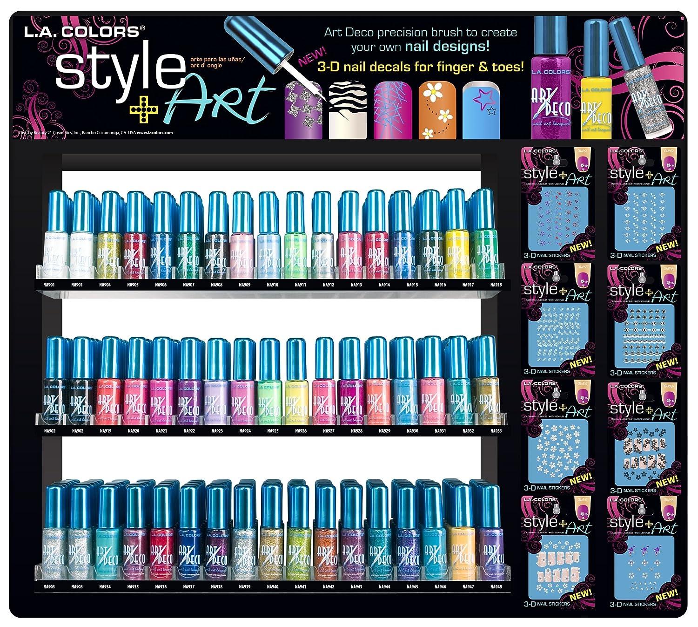 Amazon.com : LA Colors Nail Art Polish - 48 Colors! NEW! : La Nail ...