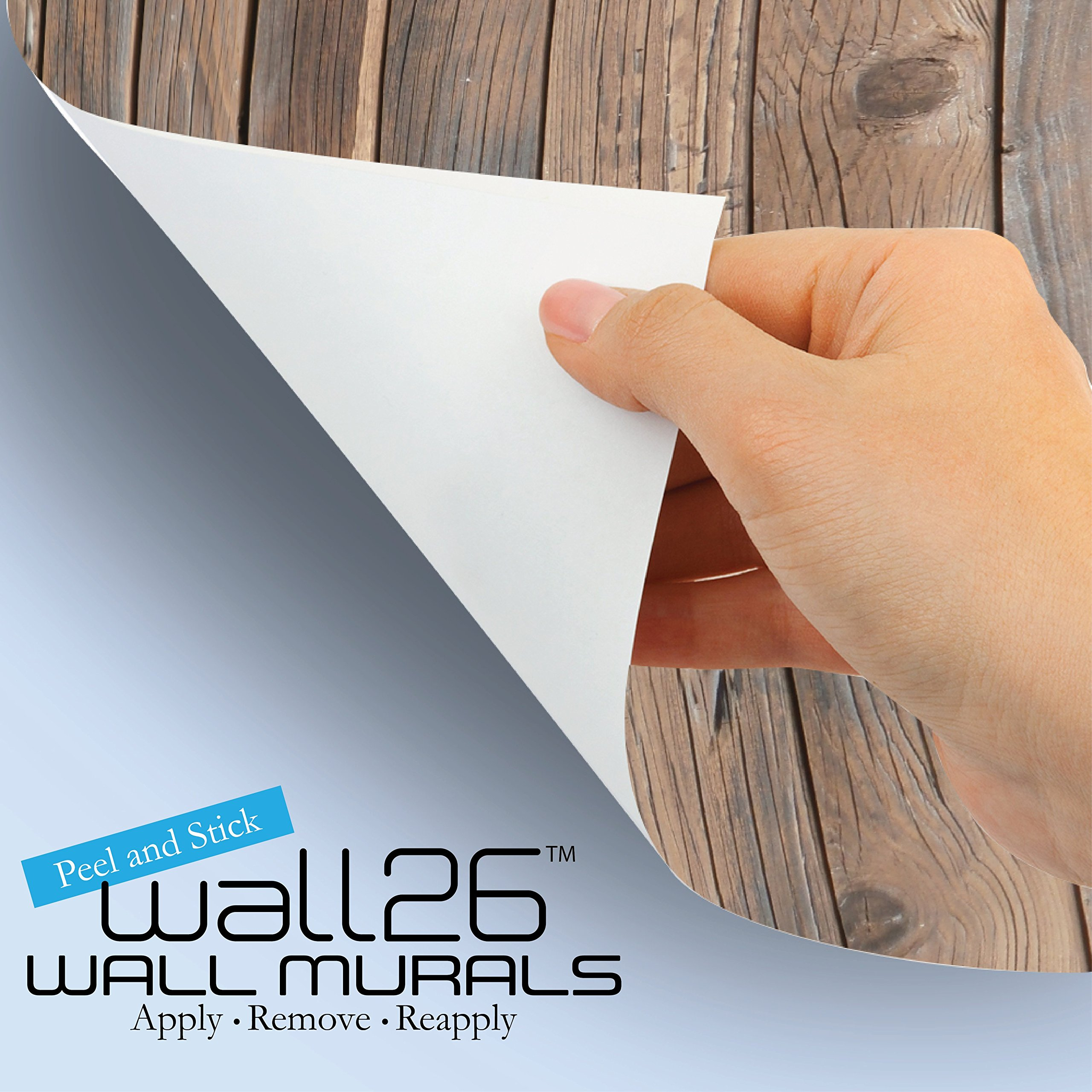wall26 - Peering into a Vibrantly Colored Space - Wall Mural, Removable Sticker, Home Decor - 100x144 inches by wall26 (Image #4)