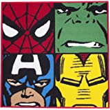 Character World Disney Marvel Comics Tapis à motif Avengers