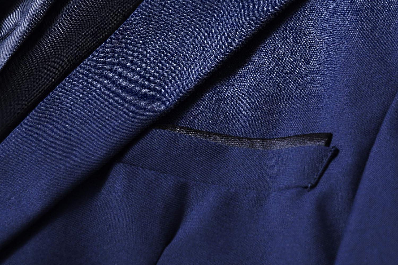 Beninos Mens Slim Fit Blazer Jacket Casual One Button Sport Coat