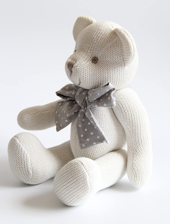 Algod/ón Org/ánico Suave para beb/é Kiyi-Gift Beb/é Juguete adorable Juguete de Peluche de Oso con Coraz/ón