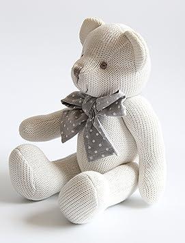 Kiyi-Gift Bebé Juguete | adorable Juguete de Peluche de Oso con Corazón | Algodón