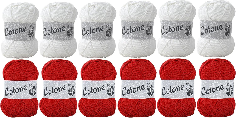 Fan Artículo EM Polonia – Lana Grossa Cotone algodón – Polonia Fan ...