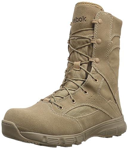 44d84b58042 Amazon.com  Reebok Work Men s Dauntless RB8820 8 Inch Tactical Boot ...