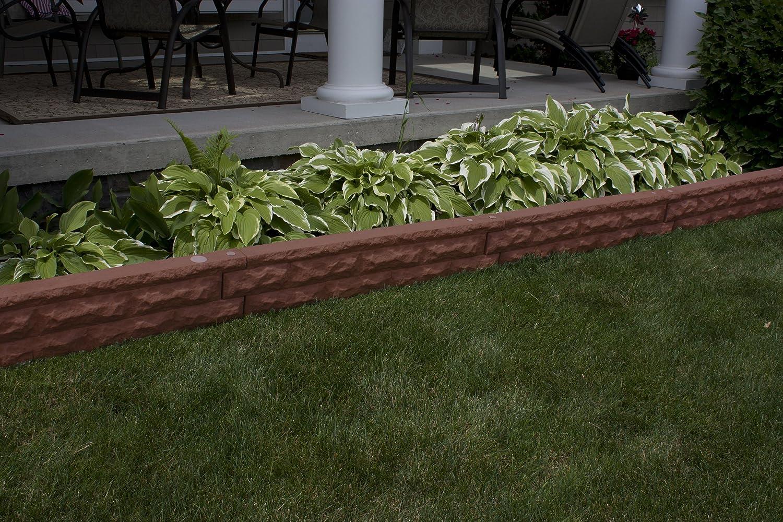 Sandstone Good Ideas Gw-Wall4-San Garden Wizard Self-Watering Landscape Border