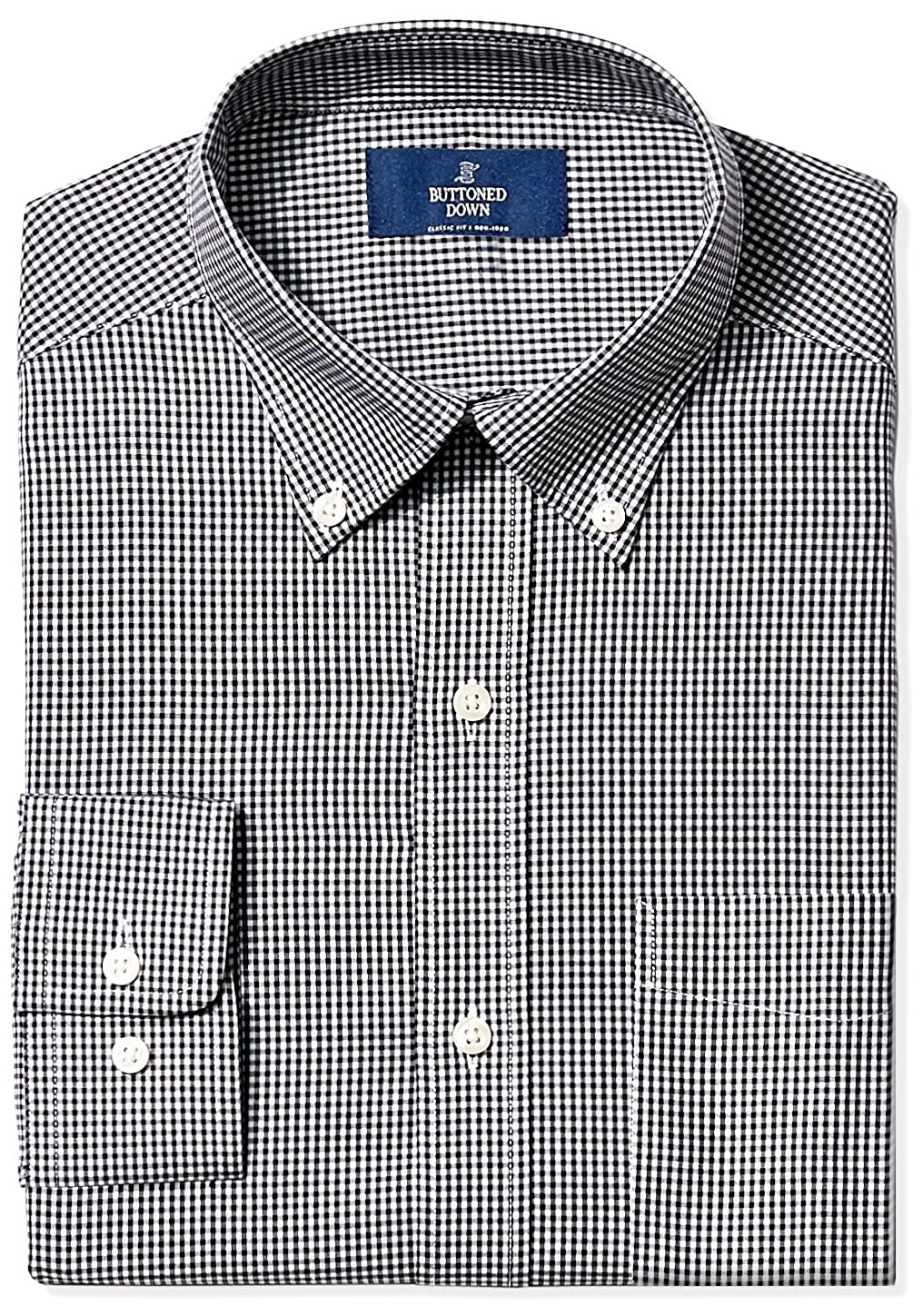Amazon Amazon Brand Buttoned Down Mens Classic Fit Gingham