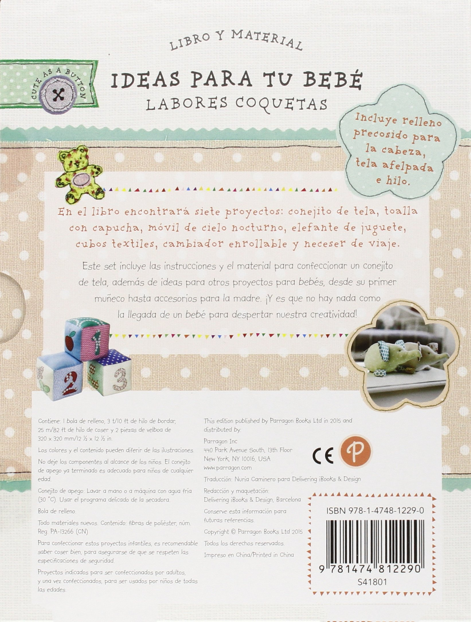 IDEAS PARA TU BEBE- LABORES COQUETAS-SET: 9781474812290: Amazon.com: Books