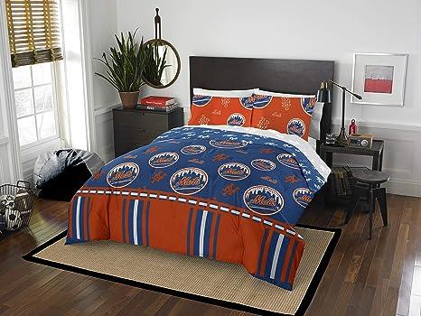 Amazon.com: NewYorkMets - Juego de cama con bolsa: Home ...