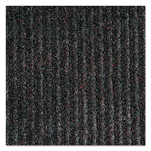 Crown NR0034BR Needle-Rib Wiper Scraper Mat, Polypropylene, 36 x 48, Brown
