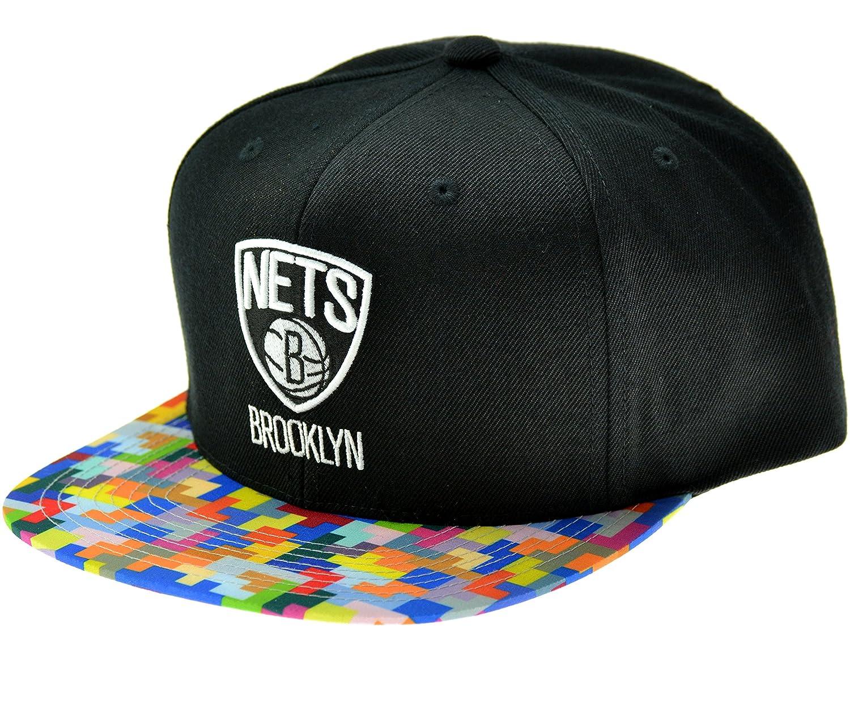 Mitchell & Ness – Gorra de hombre Brooklyn Nets Pixel Blast ...
