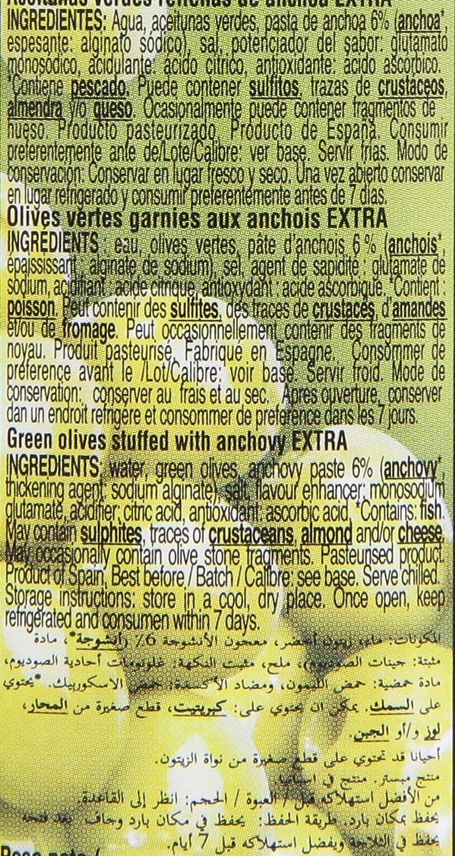 Gourmet Aceitunas Rellenas de anchoa, Verdes Manzanilla - 150 g: Amazon.es: Amazon Pantry