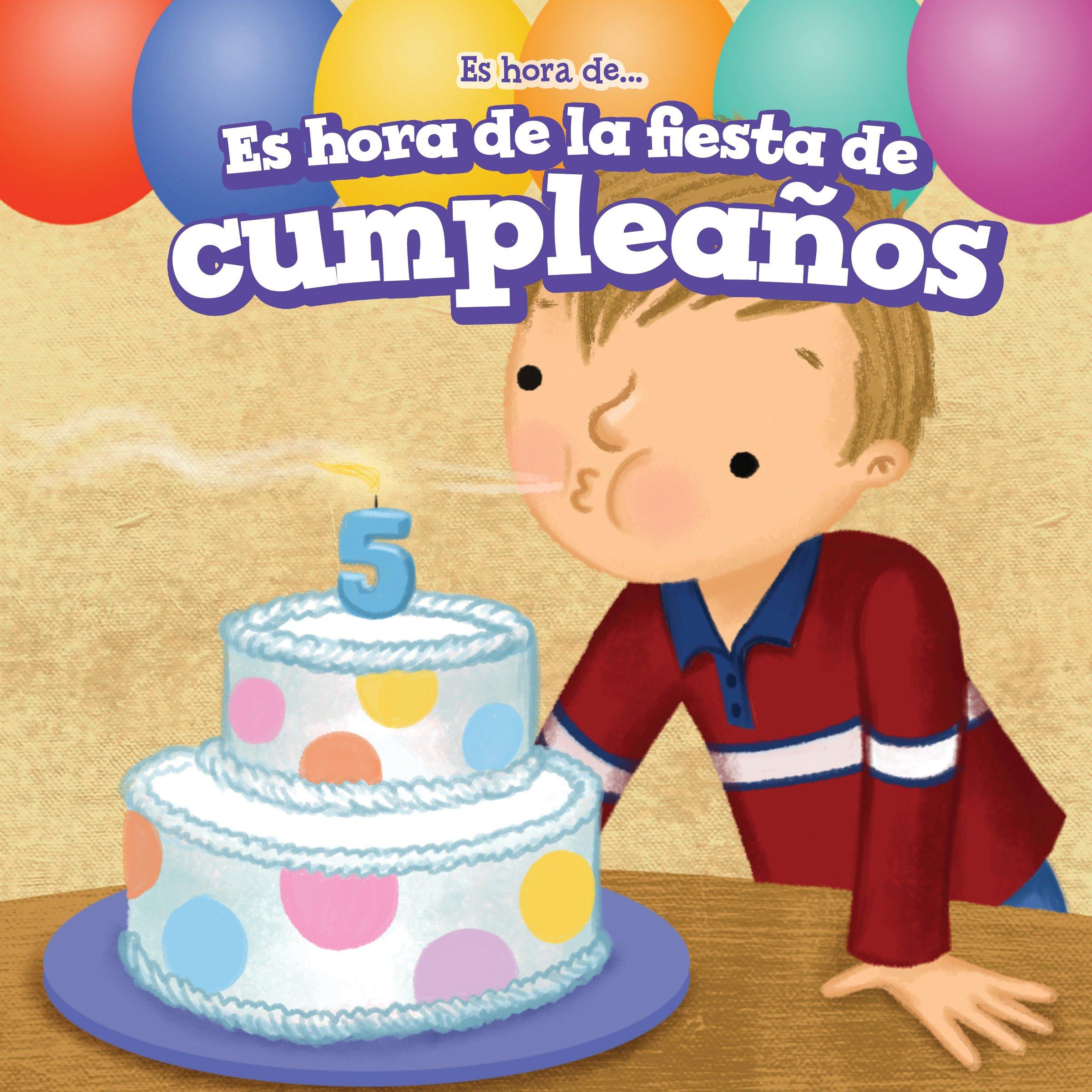 Amazon.com: Es hora de la fiesta de cumpleaños (Its Time ...