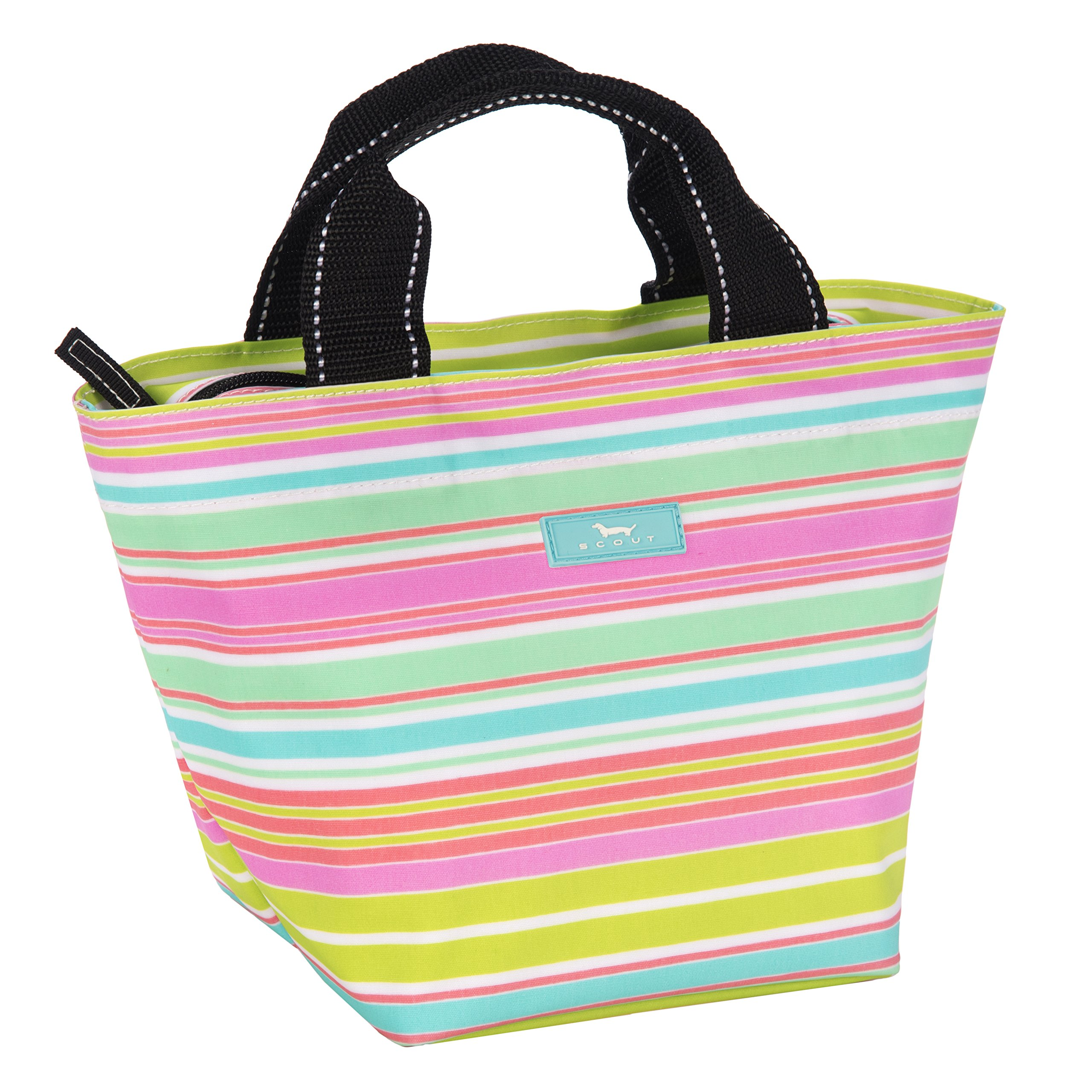 SCOUT Little Tripper Small & Lightweight Everyday Accessory Tote Bag, Interior Pocket, Water Resistant, Zips Closed, Sol Surfer