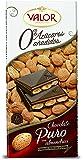 Chocolates Valor Chocolate Puro con Almendras sin Azúcar - 150 g