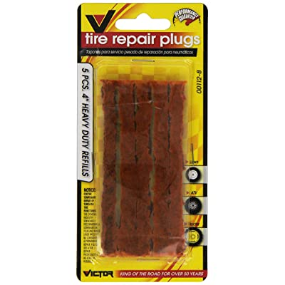 VICTOR 22-5-00112-8 Brown Tire Repair Plug - 5 Piece: Automotive