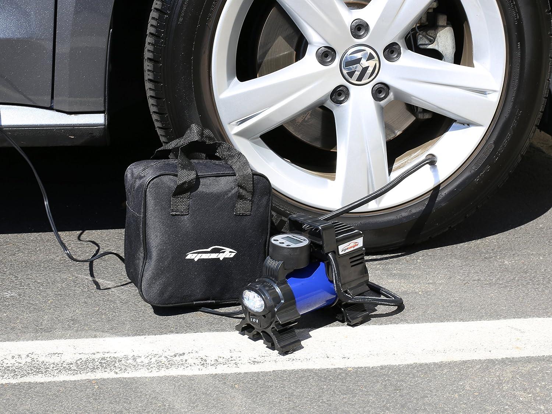 Digital Tire Inflator EPAuto 12V DC Portable Air Compressor Pump