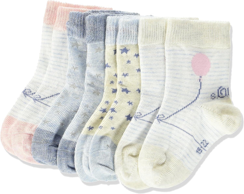 s.Oliver Socks Calcetines, Pack de 3 para Beb/és