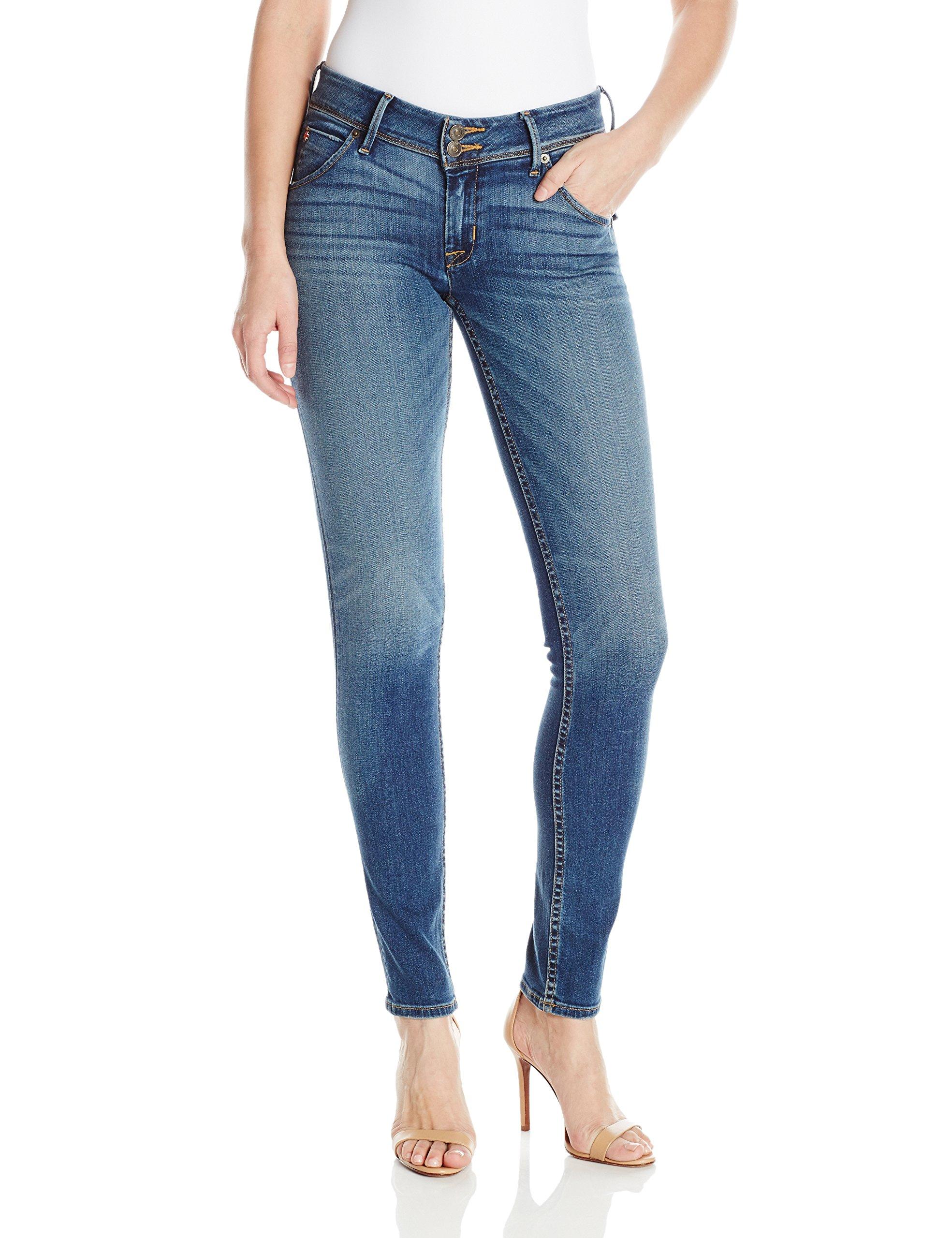 276af574e52 Galleon - Hudson Jeans Women's Collin Midrise Skinny Flap Pocket Jean,  Contender, 29