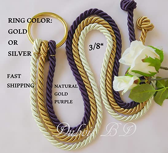 Cord of Three Strands, Ecclesiastes 4:12, Marriage Ropes, 3/8