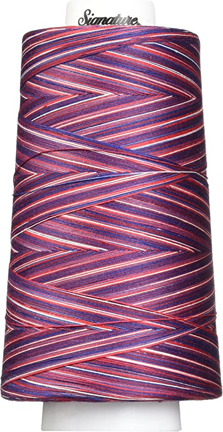 Variegated 40wt//3000 yd Signature Victorian Thread