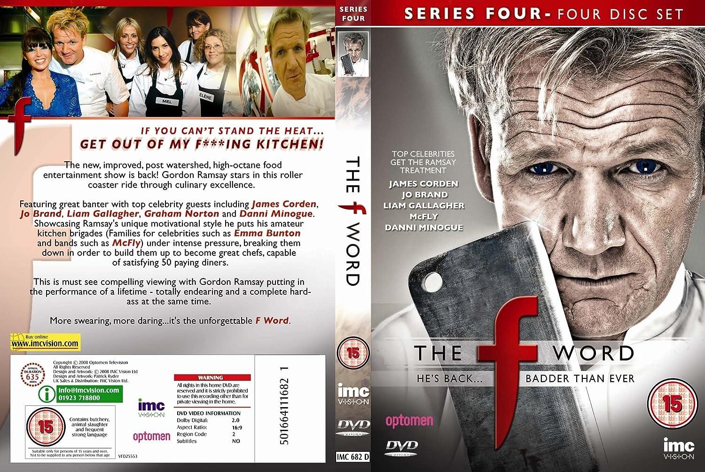 Gordon Ramsays F Word Series 1 to 5 Box Set - 17 Discs DVD: Amazon ...