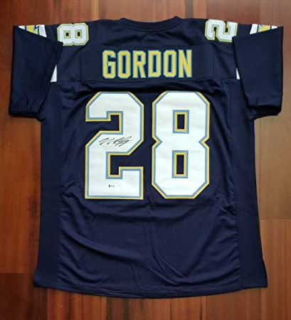 Image Unavailable. Image not available for. Color  Melvin Gordon  Autographed Signed Jersey San Diego Chargers Beckett f5a387b91