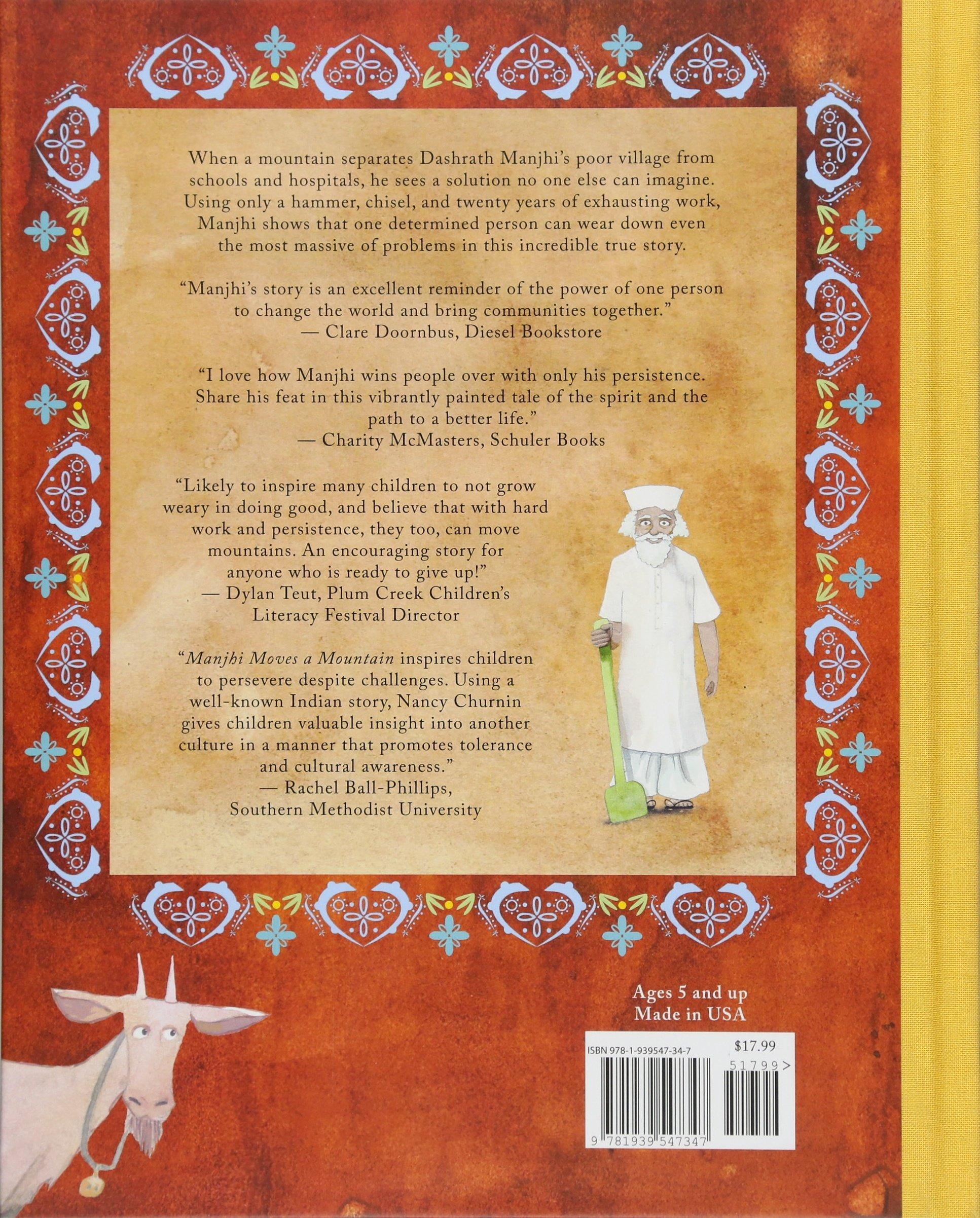 Manjhi Moves a Mountain by Creston Books (Image #2)