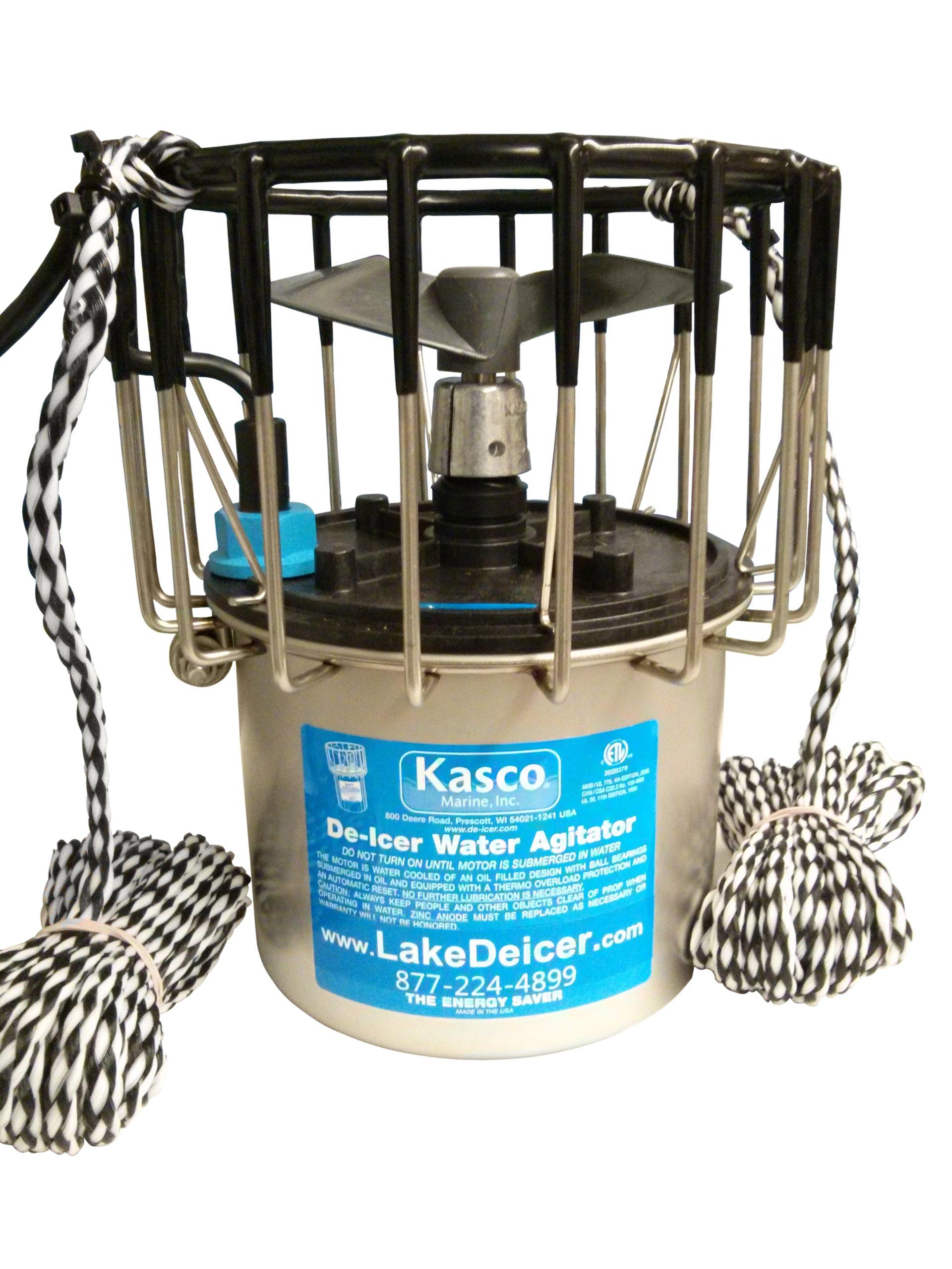 Kasco Marine De-Icer 1/2hp 120 volts Pond Lake Dock Deicer 2400D025 (w/ 100 ft Power Cord)