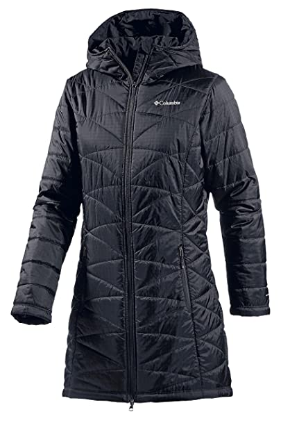 Columbia abrigo acolchado para negro Talla:extra-small: Amazon.es: Deportes y aire libre