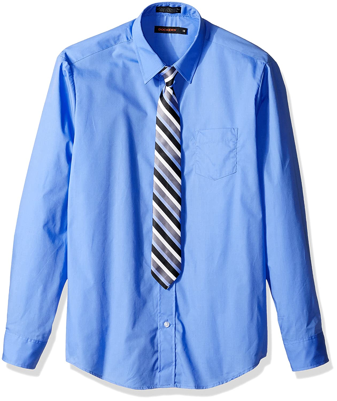 Dockers Boys Shirt Tie Set