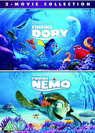 amazon com finding dory and finding nemo double pack dvd movies tv