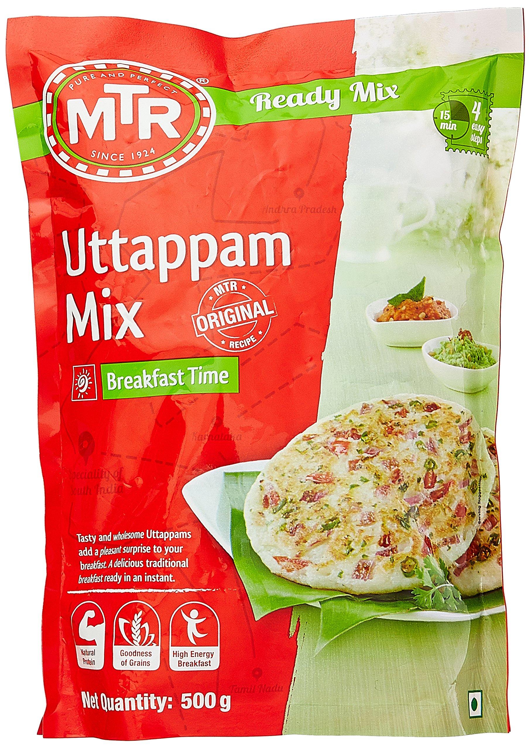 MTR Uttappam Breakfast Mix, 500g (B009M4TXV2) Amazon Price History, Amazon Price Tracker