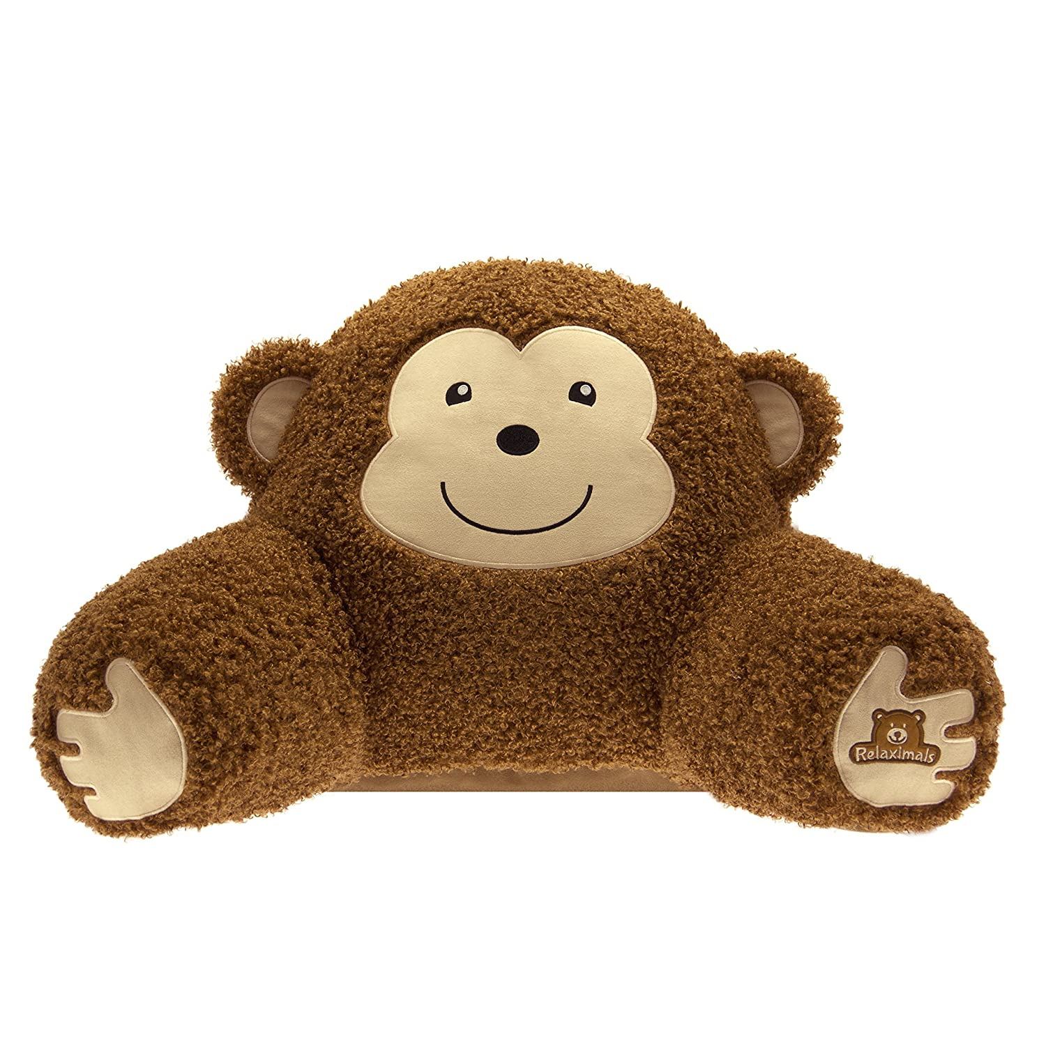 Relaximals Monkey Kids Reading Pillow