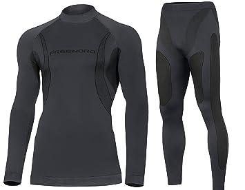 Ropa interior deportiva para hombre DRYTECH transpirable de esquí de la motocicleta conjunto de ropa interior