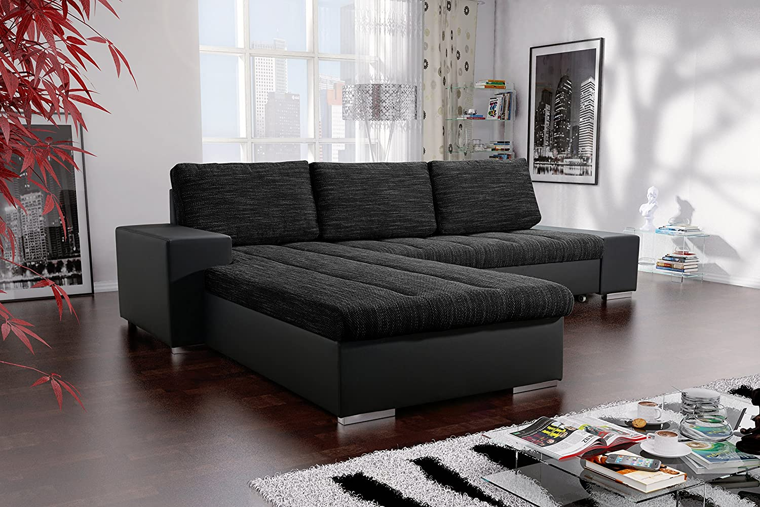 sofa couchgarnitur couch sofagarnitur verona 3 l polstergarnitur polsterecke wohnlandschaft mit. Black Bedroom Furniture Sets. Home Design Ideas