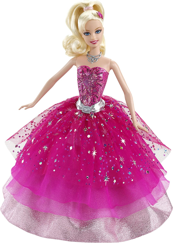 Amazon Com Barbie A Fashion Fairytale Transforming Fashion Doll Toys Games