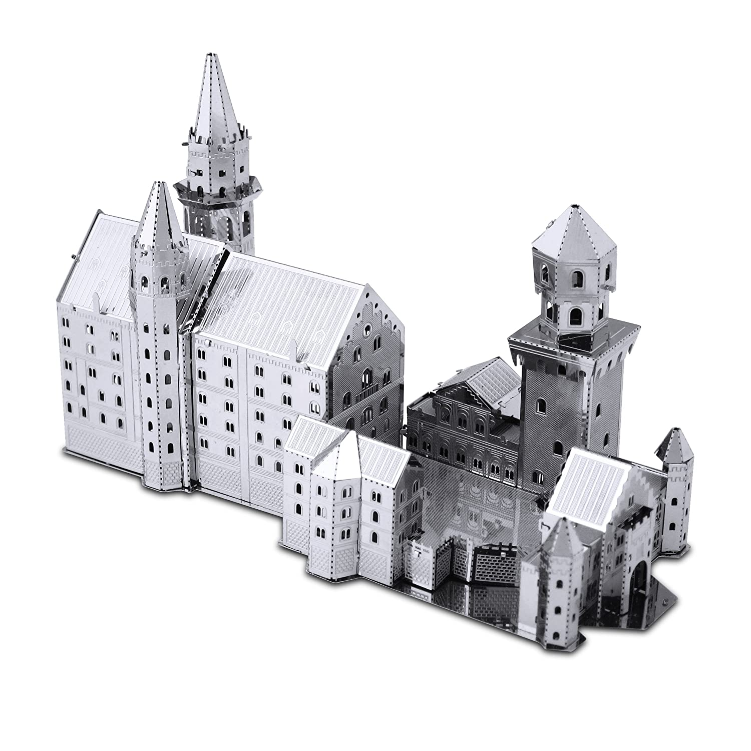 Metal Earth - Maqueta del Castillo Neuschwanstein (Fascinations MMS018)