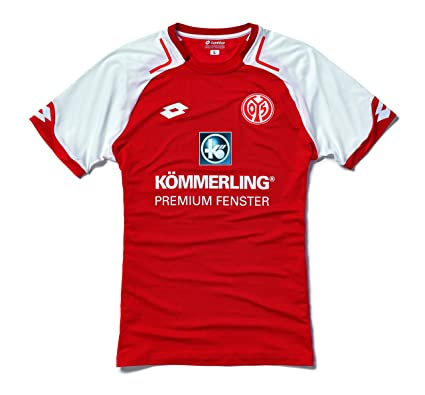 1a4792db1d9 Amazon.com : Lotto 2017-2018 FSV Mainz 05 Home Football Shirt ...