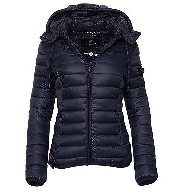 99460e31d8e8 Marikoo Damen Jacke Steppjacke Frühling Herbst Übergang Winter Jacke EA1   Amazon.de  Bekleidung