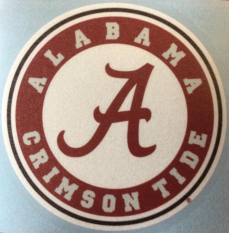 Amazon com crawford graphix alabama crimson tide vinyl sticker 4x4 decal bumper car truck laptop automotive