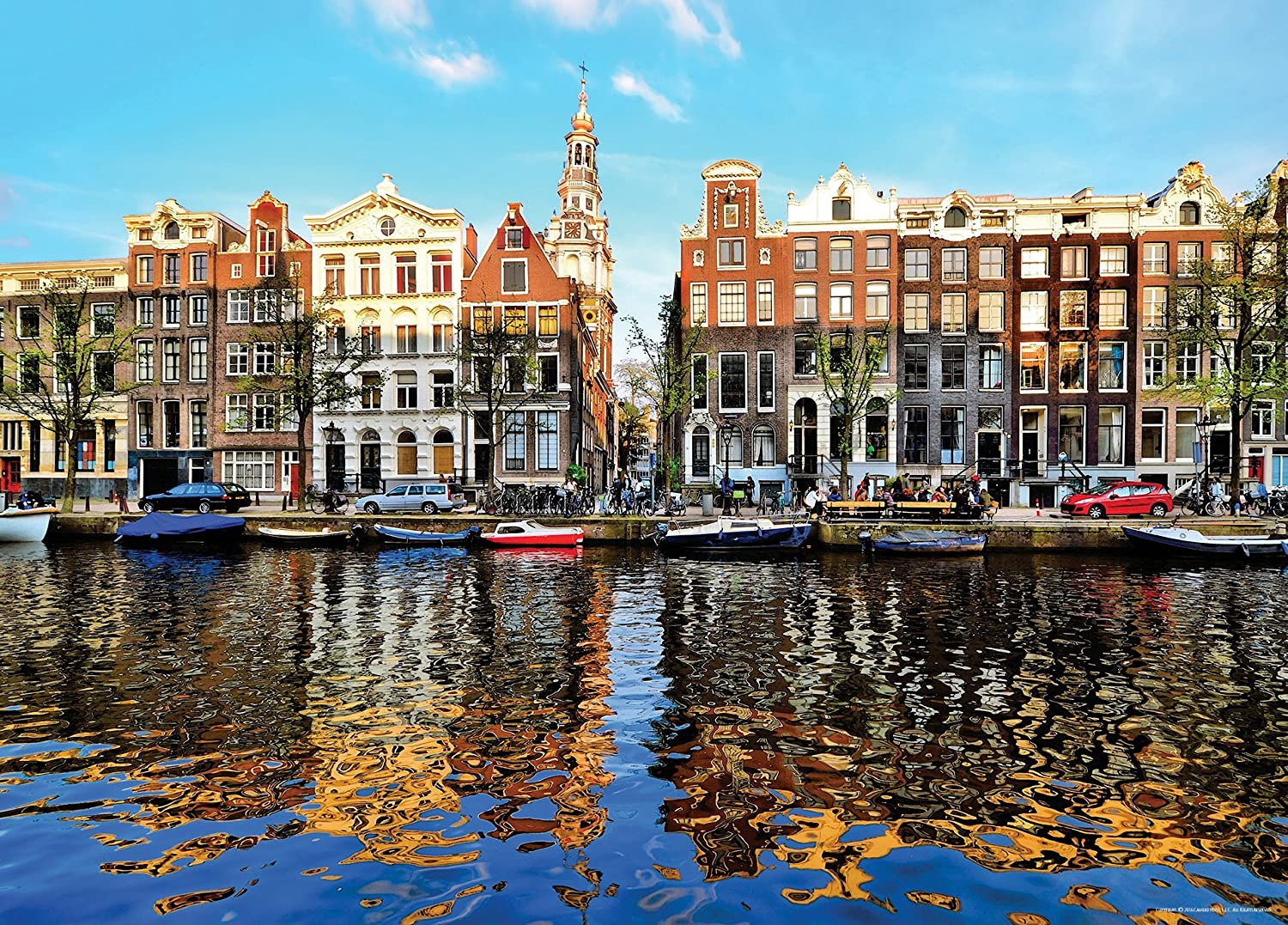 an Amsterdam Reflexion Camike Press 1000 Piece Jigsaw Puzzle for Adults 20 x 27 Teens and Family