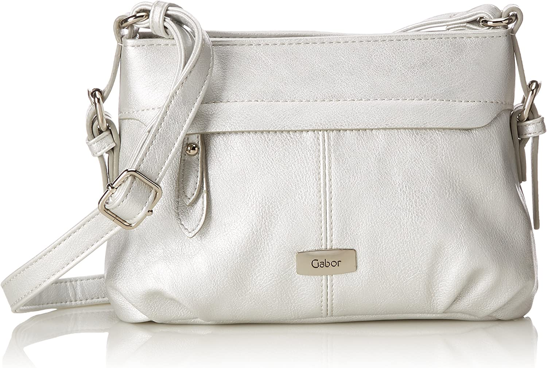 Gabor Umhängetasche Damen Lisa - Weiße Handtasche