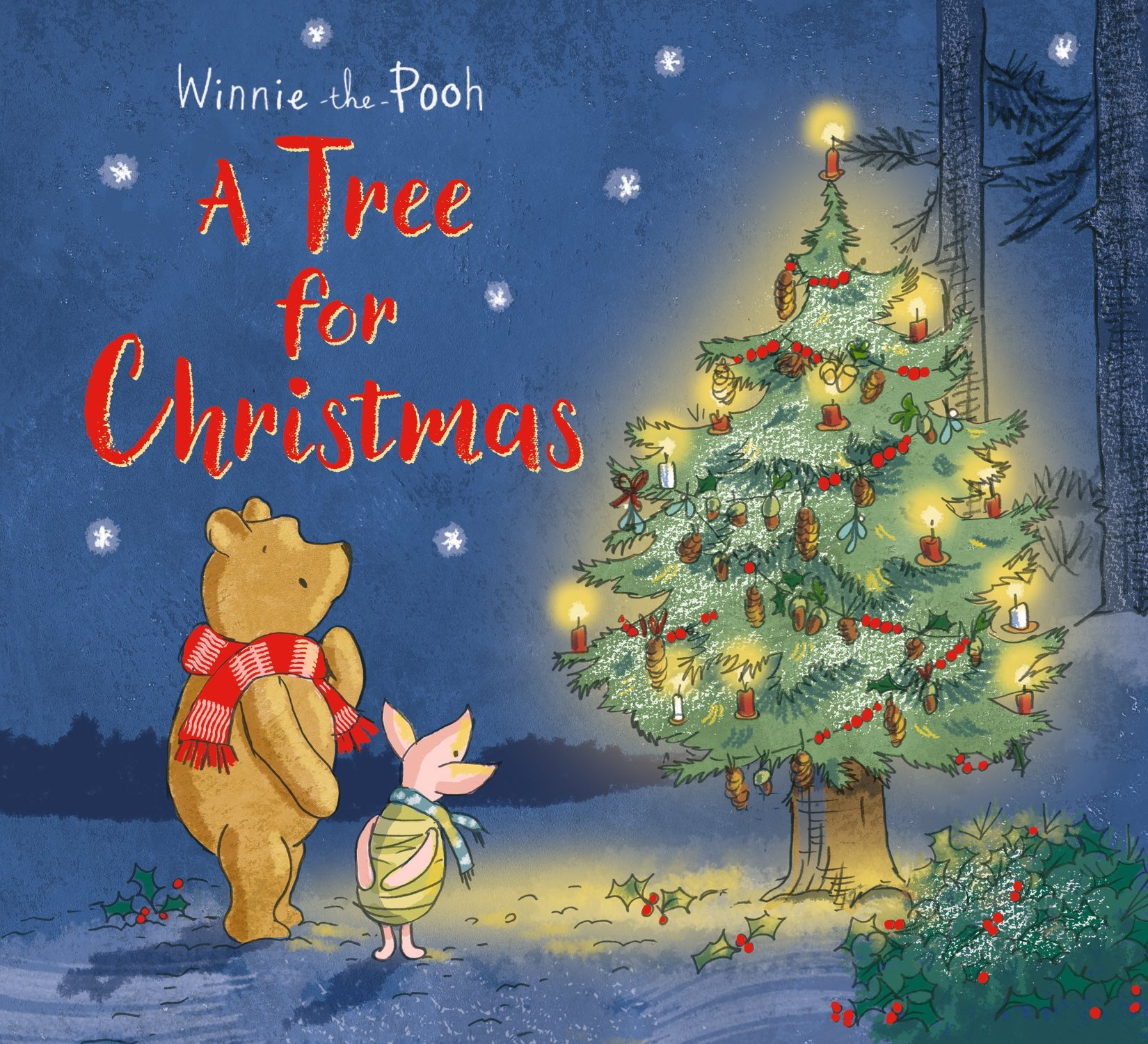 Winnie The Pooh Christmas.Winnie The Pooh A Tree For Christmas Amazon Co Uk Egmont