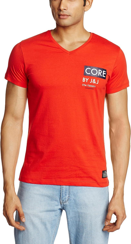 Jack & Jones Capsver Core - Camiseta con Cuello de Pico de ...