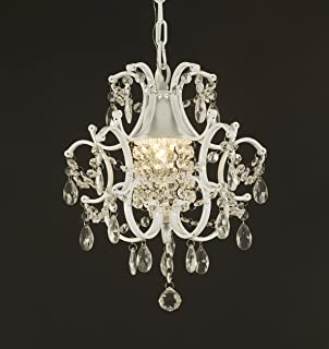 jac j105921 wrought iron crystal chandelier 14x11x1