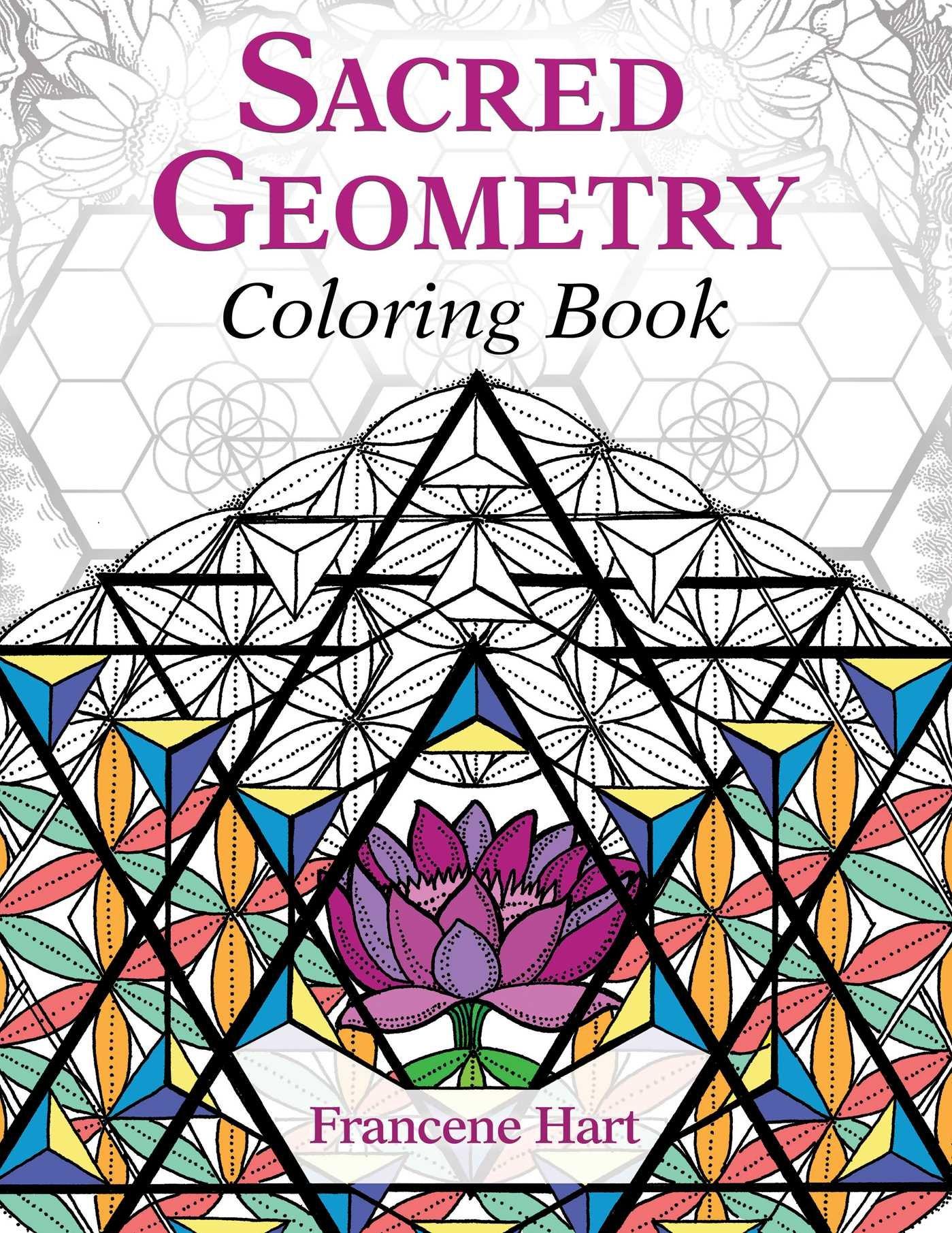 Amazon.com: Sacred Geometry Coloring Book (9781620556528 ...