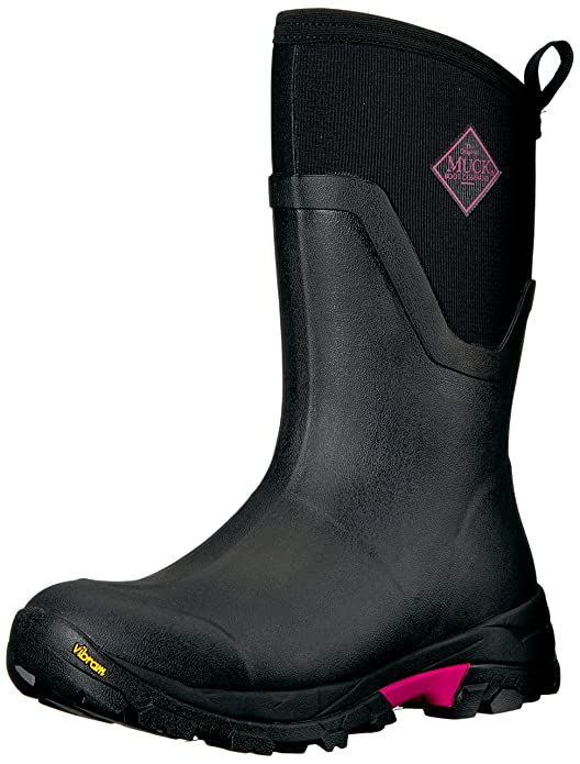 Muck Arctic Ice Extreme Conditions Mid-Height Rubber Women's Winter Boots with Arctic Grip Outsole best women's snowboots