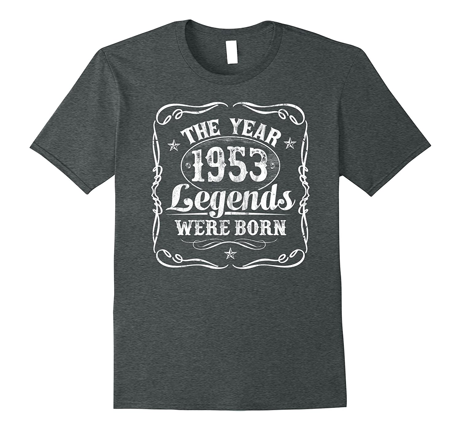 1953 The Year Legends Were Born T-Shirt 64th Birthday Gift-PL