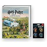 Carlsen Verlag, Edizione illustrata di Harry Potter e la Camera dei Segreti + 1. spilla originale Harry Potter