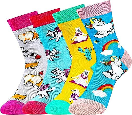 Girls Character Crew Cute Socks Fashion Cotton Casual Animals Gift Freeshipping